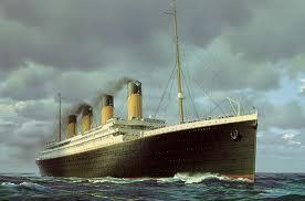Titanic sailing