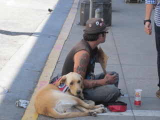 Panhandler_on_Powell_St.,_SF