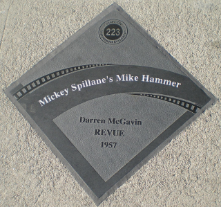 Mickey_Spillane's_Mike_Hammer_Diamond_Studio_City_Walk_of_Fame